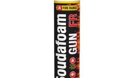 Огнестойкая пистолетная пена SOUDAFOAM FR 750 мл
