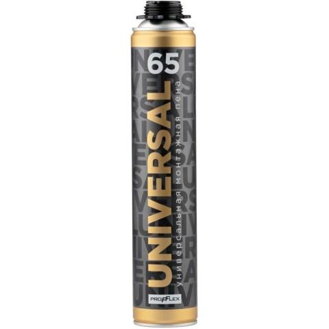 Профессиональная монтажная пена PROFFLEX UNIVERSAL 65 Всесезонная 850 мл