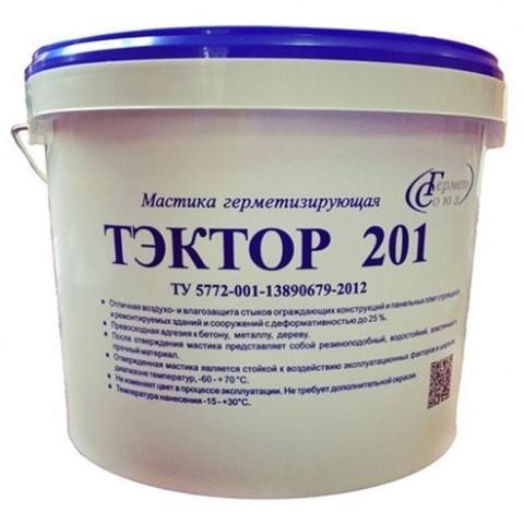 Полиуретановый герметик двухкомпонентный ТЭКТОР 201 12,5 кг