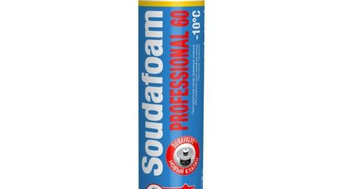 Профессиональная монтажная пена SOUDAFOAM 60 л Зима 750 мл