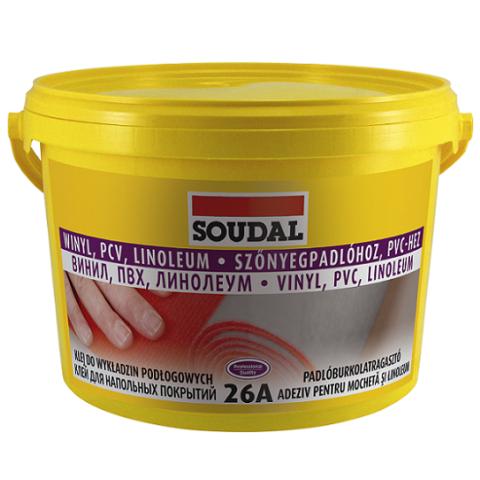 Клей для напольных покрытий SOUDAL 26А 5 кг
