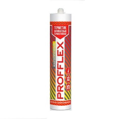 Герметик силикатный термостойкий PROFFLEX жаропрочный 1500С