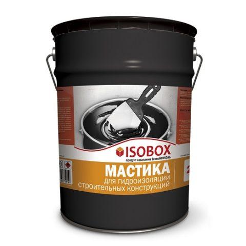 Мастика гидроизоляционная ISOBOX ведро 22 кг