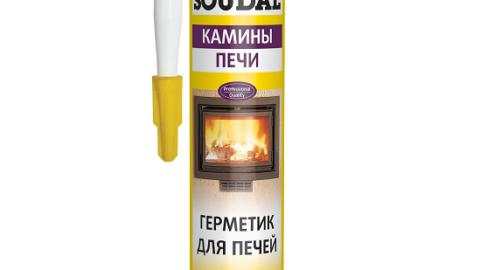 Герметик для печей SOUDAL CALOFER 1500 градусов 280 мл