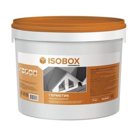 Герметик ISOBOX пароизоляционный акриловый (внутренний Б) 7кг