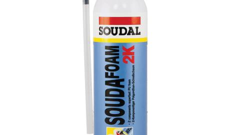 Двухкомпонентная монтажная пена SOUDAFOAM 2K 400 мл