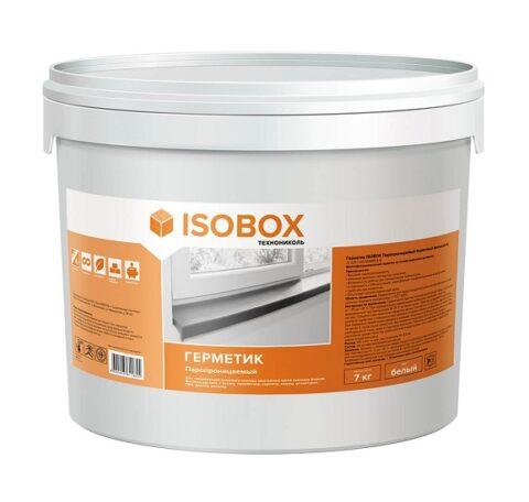 Герметик ISOBOX паропроницаемый акриловый (наружный А) 7кг